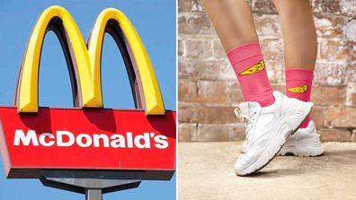 McDonald's Birdie Socks
