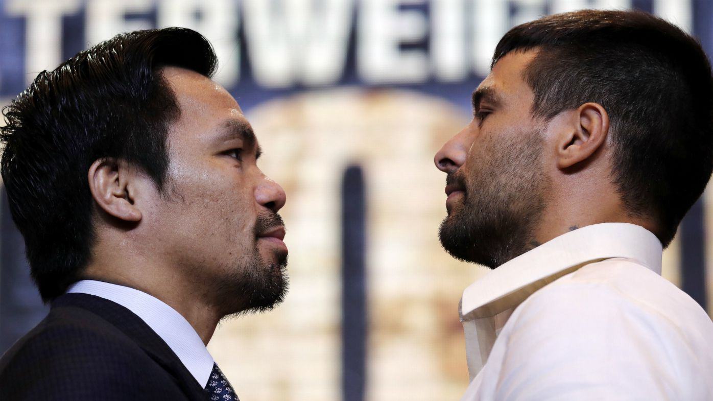 Manny Pacquiao assures career 'is not yet over' ahead of Lucas Matthysse fight, launches own crypto-currency