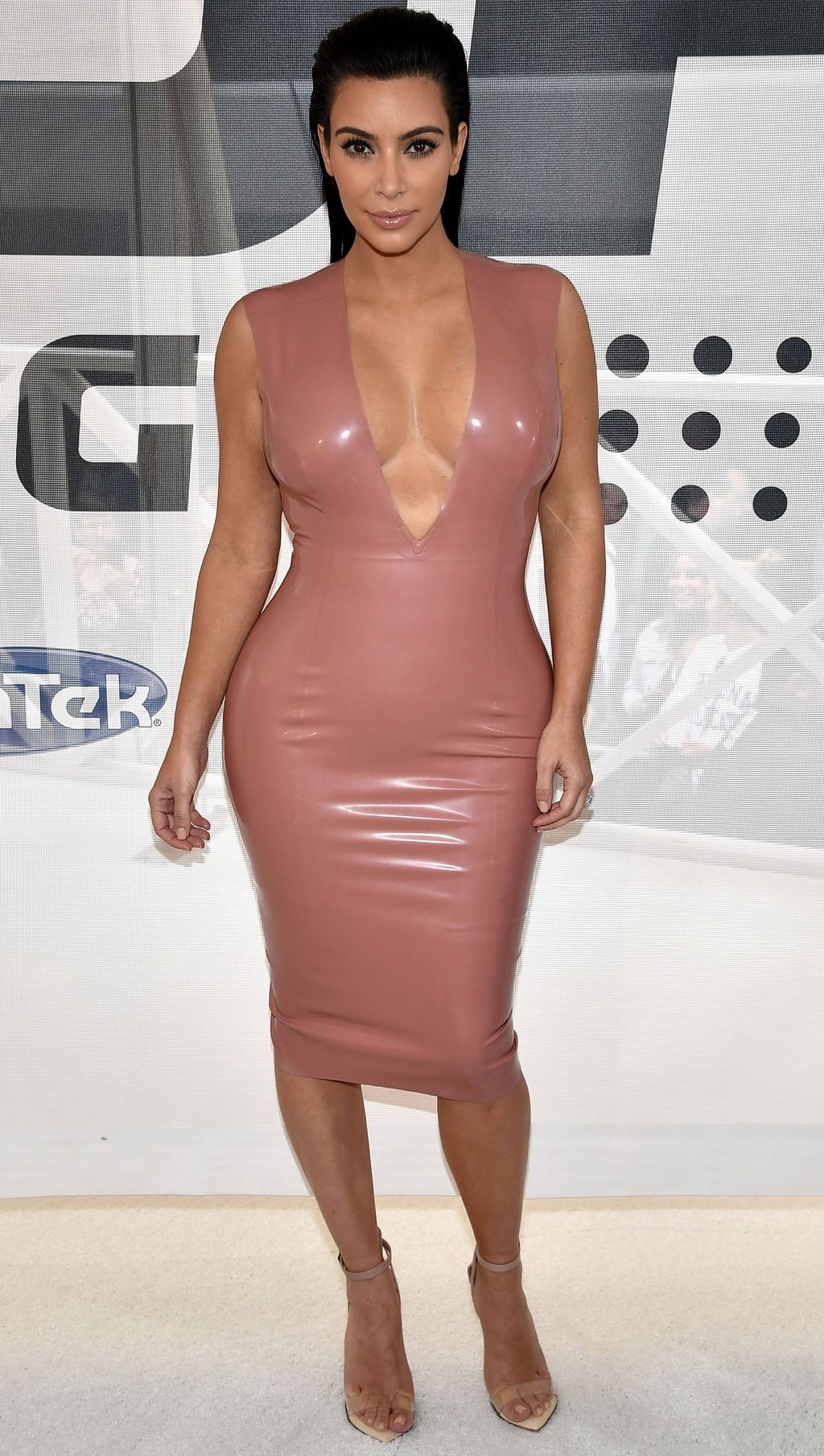 Kim kardashian west redefines maternity style with her skin tight kim kardashian west redefines maternity style with her skin tight cleavage baring outfits ombrellifo Gallery