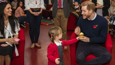 The Duke and Duchess of Sussex surprised their neighbours in Windsor at a coffee morning for military families 3