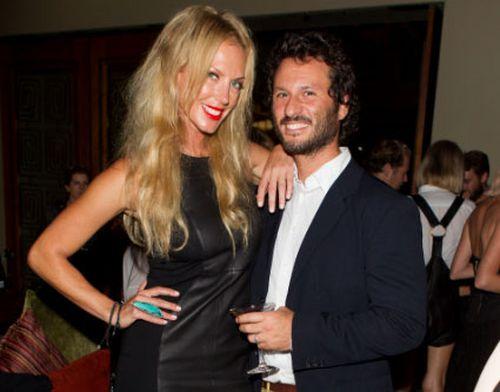Annalise Braakensiek and husband Danny Goldberg in 2013.