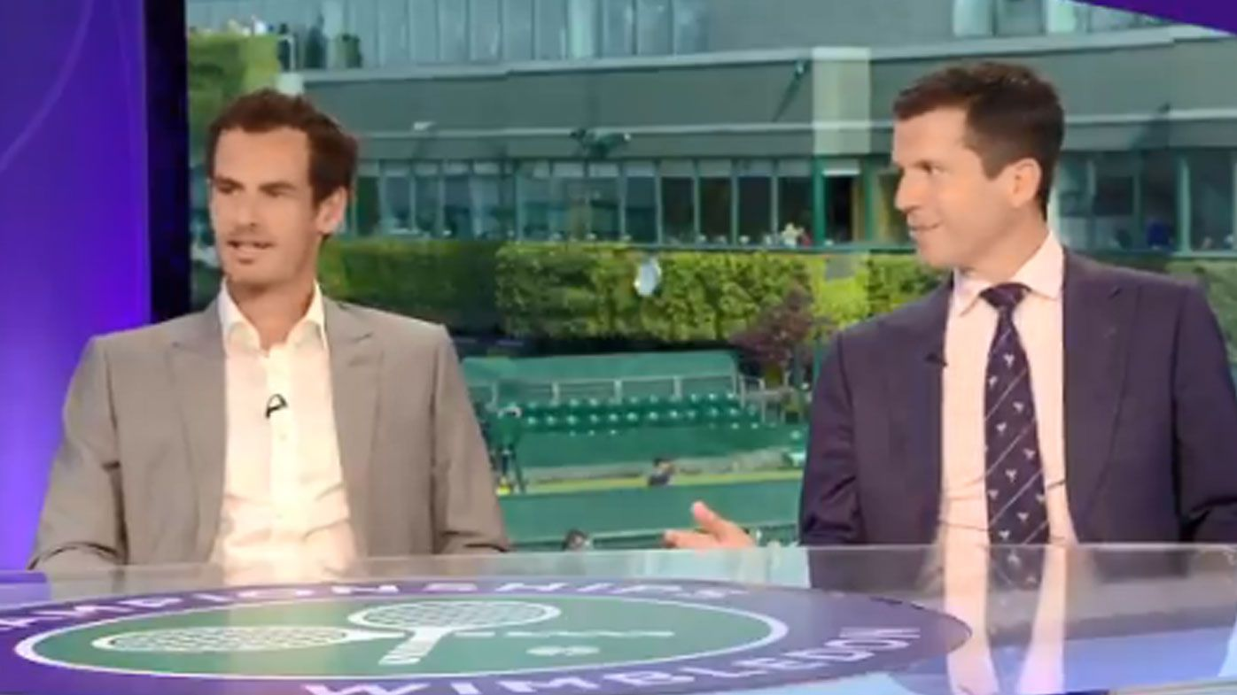 Andy Murray and Tim Henman take vote on who is 'most boring'