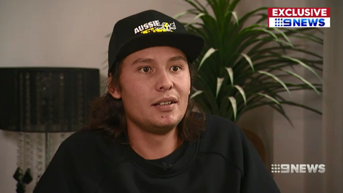 A motorbike stunt rider has spoken for the first time about the circus act mishap that almost cost him his life, and his painstaking road to recovery.