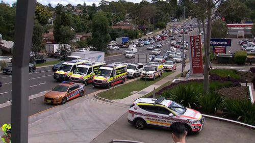 Several NSW Ambulance crews are on scene to provide treatment.
