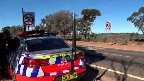 Highway patrol officers stopped the car when they noticed its damaged bumper. (9NEWS)