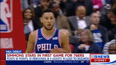 Basketball: Aussie rookie Ben Simmons sends a warning to the NBA, shrugs off LeBron James comparisons