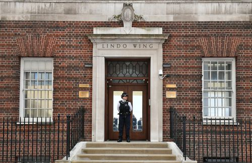 The boy was born in the Lindo Wing of St Mary's Hospital. (PA/AAP)