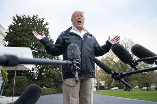 """The State Department released a statement after US President Donald Trump called his CIA chief and top diplomat from Air Force One, saying """"recent reports indicating that the US government has made a final conclusion are inaccurate""""."""