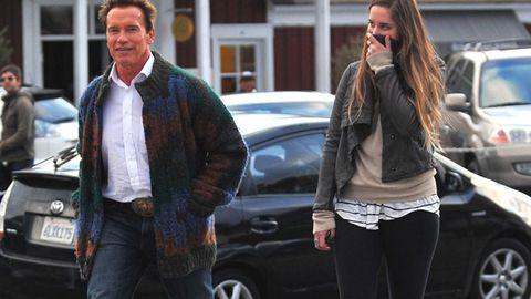 Arnold Schwarzenegger's ugly cardigan