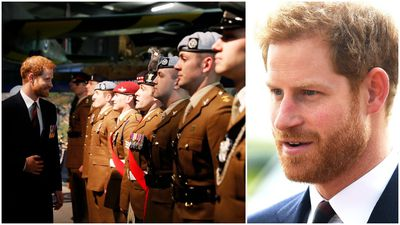 Prince Harry gives new pilots wings