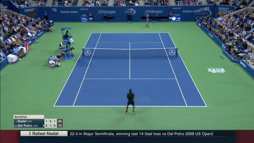 Nadal in charge against Del Potro