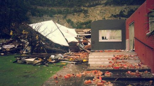 Wild wind leaves Tasmanian homes without power