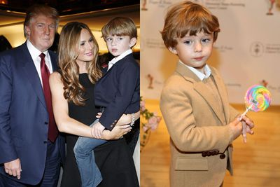 Most kids are lucky enough to get a toy helicopter, Donald and Melania Trump's son was treated to a high-flying themed 4th birthday party with submarine and helicopter tours for him and twenty of his friends.