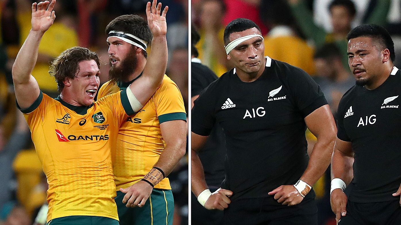 The Wallabies scored a great win over the All Blacks in Brisbane