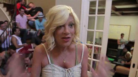 Tori Spelling stars in gay Hoarders viral video