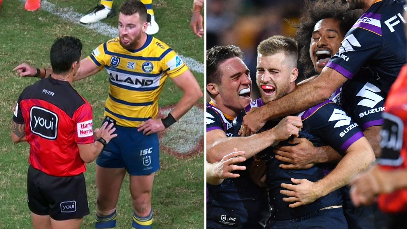 NRL: Melbourne Storm submit Parramatta Eels to 54-point Magic Round shellacking