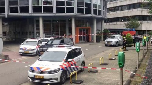 Police have confirmed a hostage situation at a building used by Dutch radio station 3FM. (Twitter/@RudawEnglish)