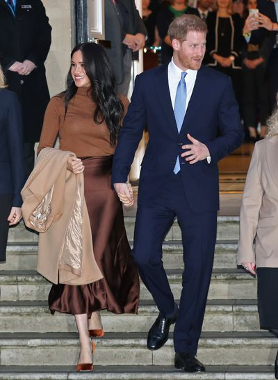 Meghan and Harry's final royal engagement - January 2019