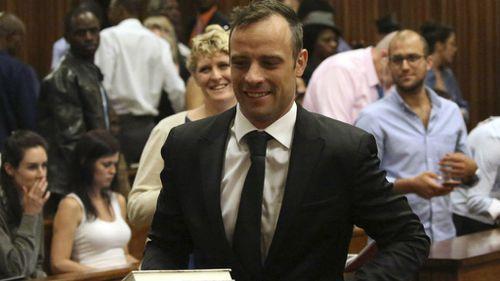 Oscar Pistorius in court.