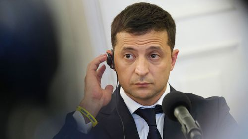 Volodymyr Zelensky was elected as the anti-corruption reformer in Ukraine. He previously played the president on a TV comedy.