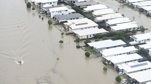 The massive clean up after the Townsville floods is expected to take months.