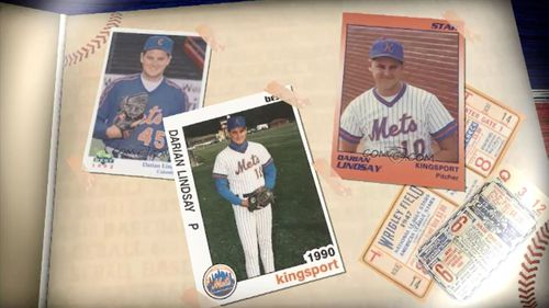 Mr Lindsay used to play minor league baseball for the New York Mets.