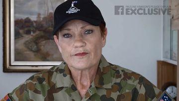 Pauline Hanson before her visit to Afghanistan. (Facebook)