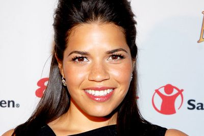 "No surprise that, in real life, ugly Betty is a total knockout. But the actress says she never had any reservations about frumping up for the role: ""This is a wonderful character,"" she told NJ.com."