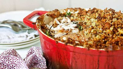 <strong>Chicken and pork cassoulet</strong>