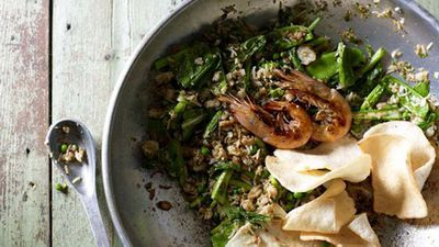 "Flavour always wins when you want to impress, so keeping it simple but packed with punch is a sure fire recipe for success with  Janet DeNeefe's exotic <a href=""http://kitchen.nine.com.au/2016/05/20/10/40/janet-deneefes-nasi-goreng-fried-rice"" target=""_top"">enasi goreng (fried rice)</a>&nbsp;recipe"