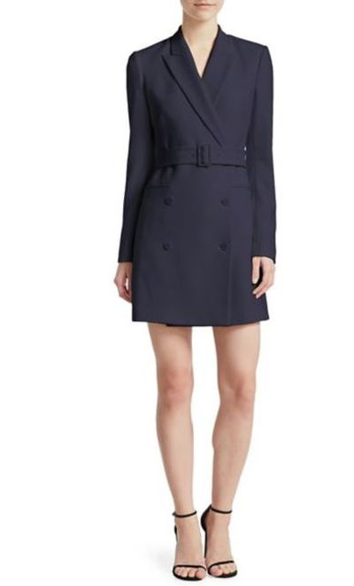 Theory Admiral Crepe Blazer Dress, $701.36