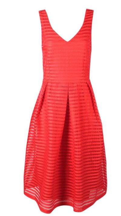 "<a href=""http://au.boohoo.com/jodie-panelled-skater-dress/DZZ40950.html?color=157"" target=""_blank"">Boohoo Jodie Panelled Skater Dress, $50.</a>"