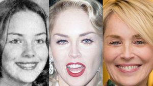 The evolution of Sharon Stone's face