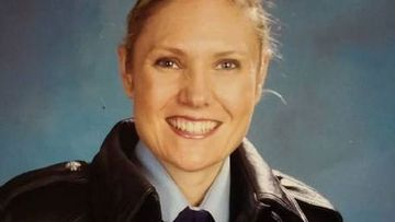 Senior Constable Kelly Foster died trying to save a drowning woman.