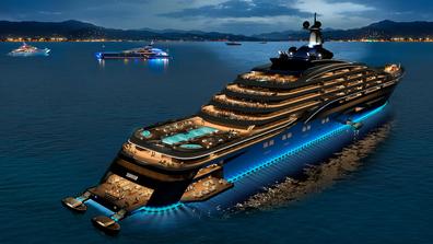 World's largest yacht: US$600 million yacht 'liner' named Somnio
