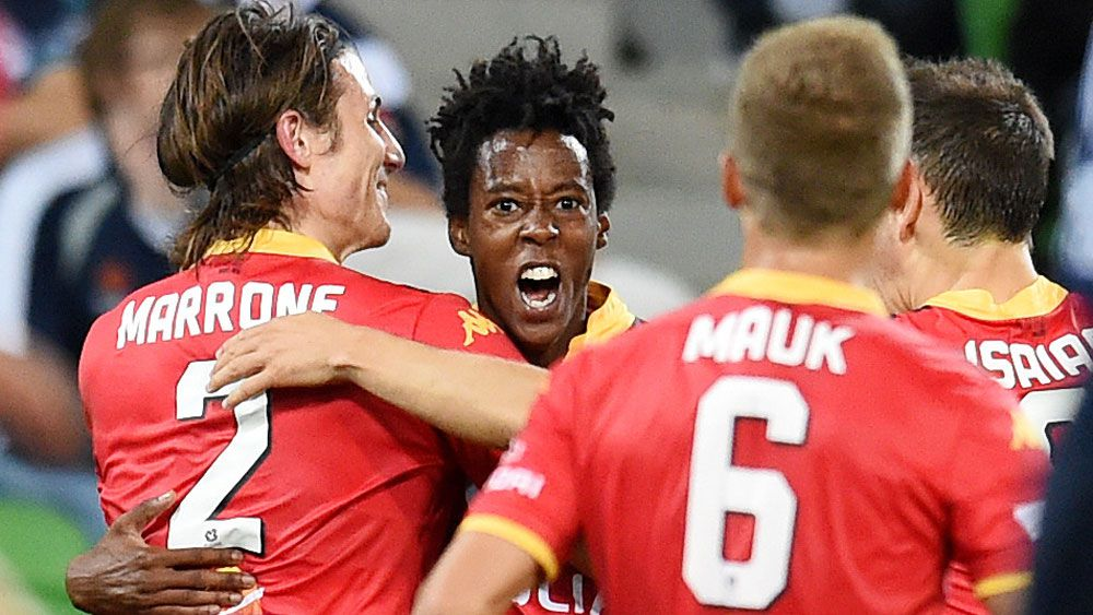 Adelaide rise to second on A-League table