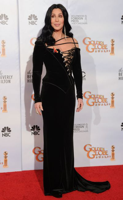 Cher at the 67th Annual Golden Globe Awards in Los Angeles, January, 2010