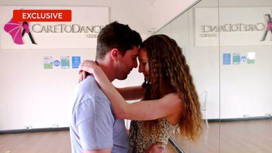 Exclusive: Patrick and Belinda take a salsa dancing class