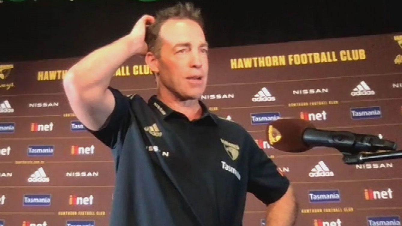 Alastair Clarkson committed to succession plan with Sam Mitchell as Hawks coach