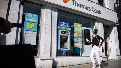 Thomas Cook scrambles to avert collapse