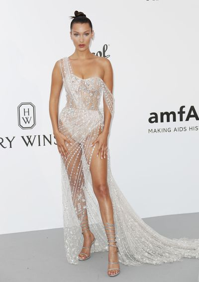 Bella Hadid in Ralph and Russo at the 2017 Cannes Film Festival