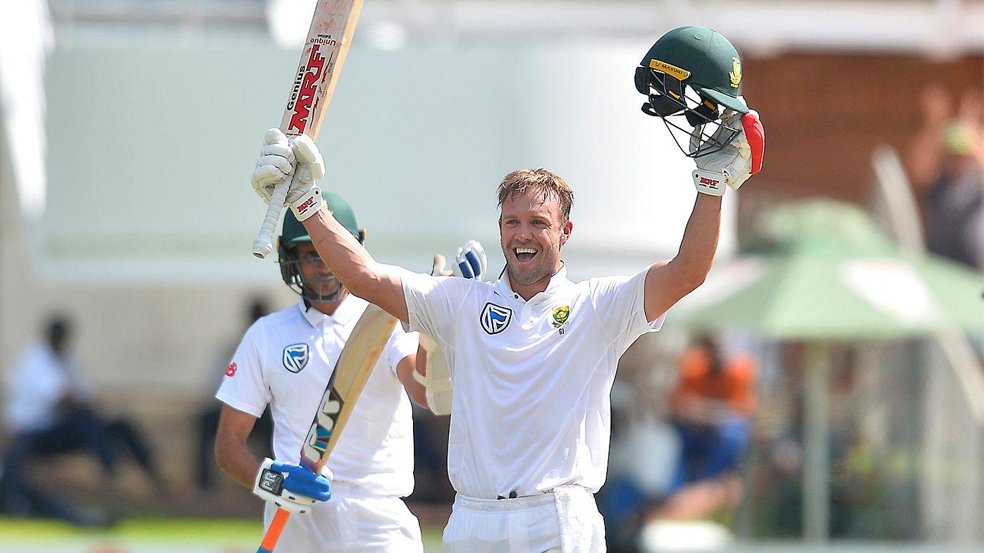 AB de Villiers opens up about special ton