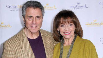 Valerie Harper and husband actor Tony Cacciotti in 2014.