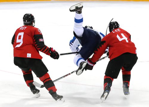 """""""Someone once described ice hockey as thus: 'I went to a fight last night and an ice hockey game broke out'."""" (AAP)"""