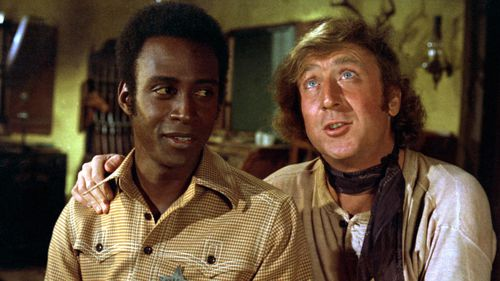 Gene Wilder in 'Blazing Saddles'. (AFP)