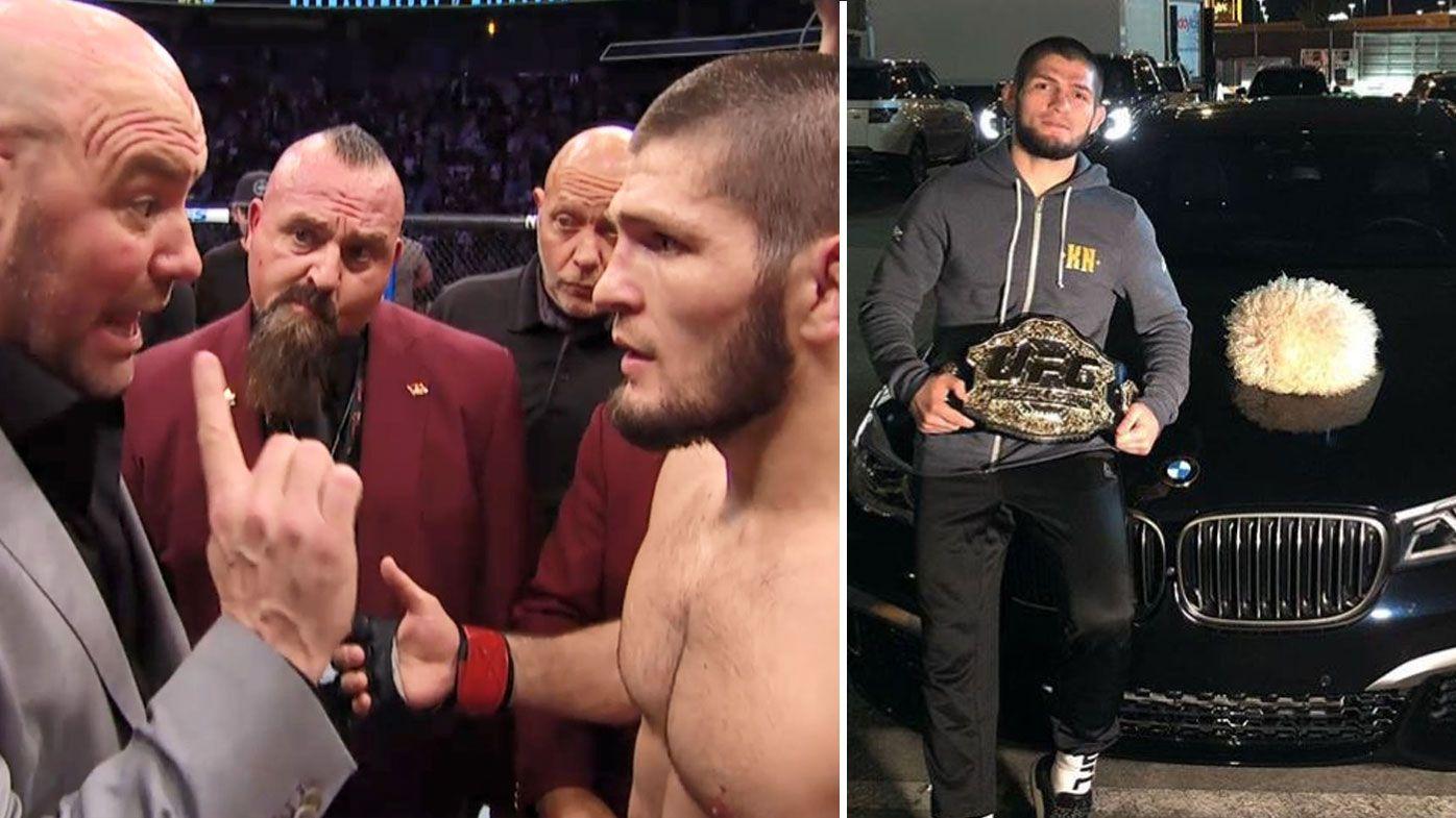 'Dana White you lucky that you give my belt': Khabib Nurmagomedov takes swipe at Dana White following UFC 229