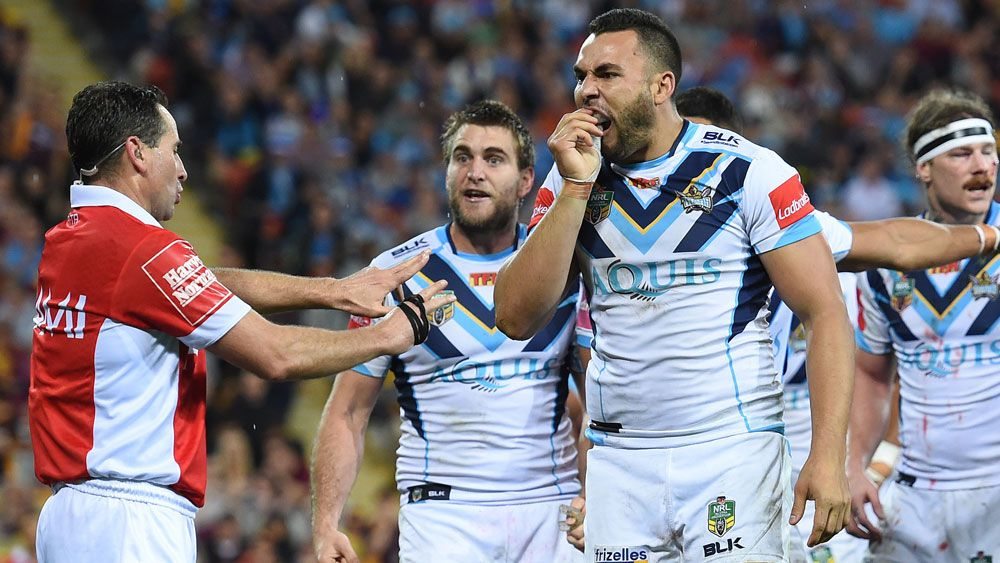 Titans slam NRL refs after Broncos loss