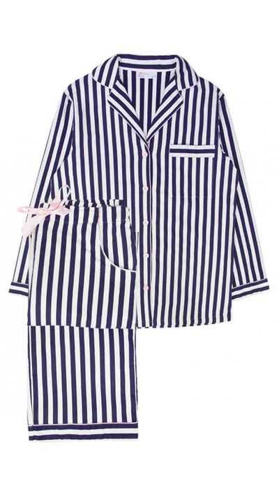 "<p><a href=""http://www.bendonlingerie.com.au/lovable-lia-long-pj-set-austral-aura-stripe-ls106-1557"">Lia Long PJ Set, $64.95, Lovable</a></p>"