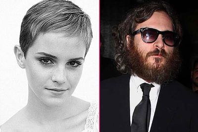 In less drastic overhauls, <b>Emma Watson</b> lopped off her hair the second she got off the <i>Harry Potter</i> set, and <b>Joaquin Phoenix</b> revealed his homeless guy image and trainwrecky behaviour were all an act for his film <i>I'm Still Here</i>.<br/><br/>