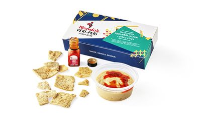 Nando's inflight meal